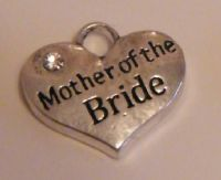 Mother Of The Bride Earrings - Drop Charm Style